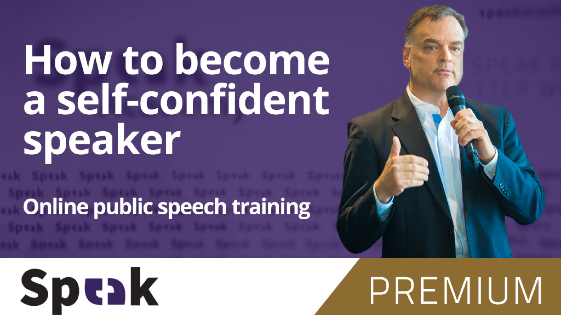 Premium complete public speaking course